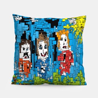 Thumbnail image of Bluesky Pillow, Live Heroes