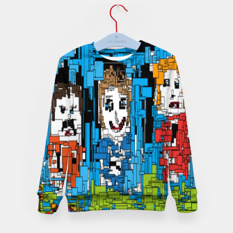 Thumbnail image of Bluesky Kid's sweater, Live Heroes