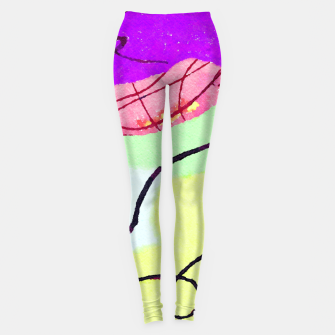 Thumbnail image of Natural Thinker Leggings, Live Heroes