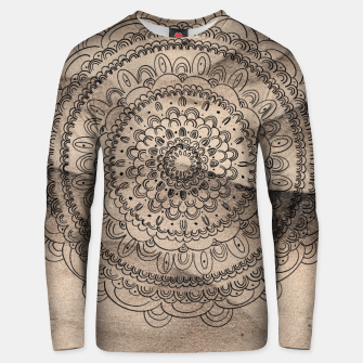 Thumbnail image of Mandala on Sand #1 #boho #wall #decor #art  Unisex sweatshirt, Live Heroes