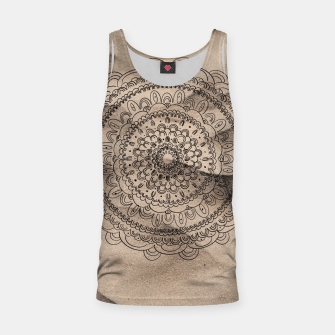 Thumbnail image of Mandala on Sand #1 #boho #wall #decor #art  Muskelshirt , Live Heroes