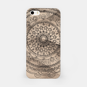 Thumbnail image of Mandala on Sand #1 #boho #wall #decor #art  iPhone-Hülle, Live Heroes
