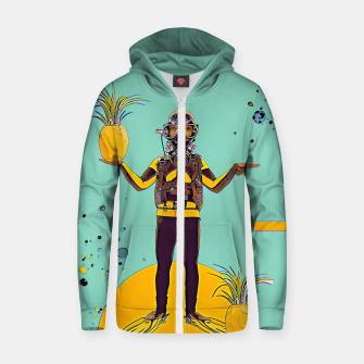 Thumbnail image of Diver Zip up hoodie, Live Heroes