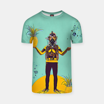Thumbnail image of Diver T-shirt, Live Heroes