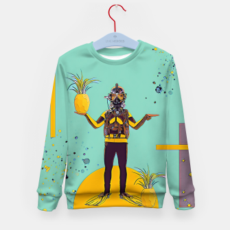 Thumbnail image of Diver Kid's sweater, Live Heroes
