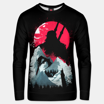 Thumbnail image of Sunset Hunt - Witcher 3 Unisex sweater, Live Heroes