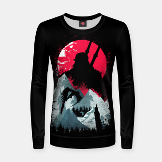 Thumbnail image of Sunset Hunt - Witcher 3 Women sweater, Live Heroes