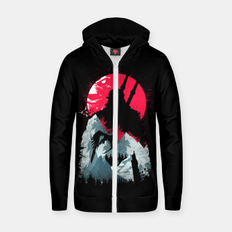 Thumbnail image of Sunset Hunt - Witcher 3 Zip up hoodie, Live Heroes