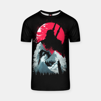 Thumbnail image of Sunset Hunt - Witcher 3 T-shirt, Live Heroes
