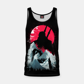 Thumbnail image of Sunset Hunt - Witcher 3 Tank Top, Live Heroes