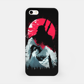 Thumbnail image of Sunset Hunt - Witcher 3 iPhone Case, Live Heroes