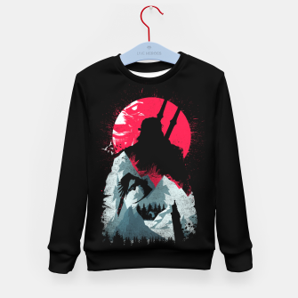 Thumbnail image of Sunset Hunt - Witcher 3 Kid's sweater, Live Heroes