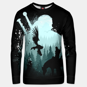 Thumbnail image of Wild Huntmans - Witcher 3 Wild Hunt - The Witcher Unisex sweater, Live Heroes