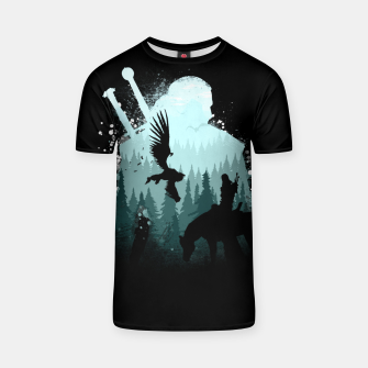 Thumbnail image of Wild Huntmans - Witcher 3 Wild Hunt - The Witcher T-shirt, Live Heroes