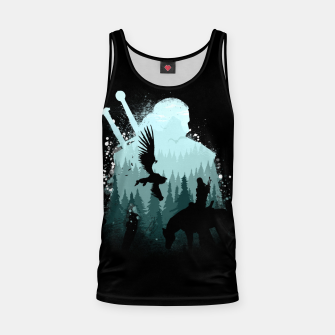Thumbnail image of Wild Huntmans - Witcher 3 Wild Hunt - The Witcher Tank Top, Live Heroes