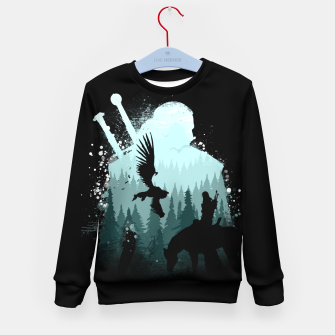 Thumbnail image of Wild Huntmans - Witcher 3 Wild Hunt - The Witcher Kid's sweater, Live Heroes
