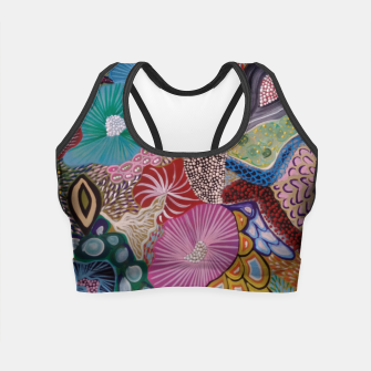 Thumbnail image of meduze Crop Top, Live Heroes