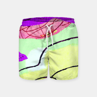 Miniatur Natural Thinker Swim Shorts, Live Heroes