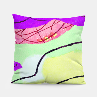 Miniatur Natural Thinker Pillow, Live Heroes