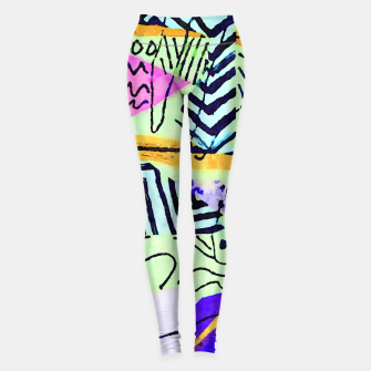 Thumbnail image of Two Worlds Leggings, Live Heroes