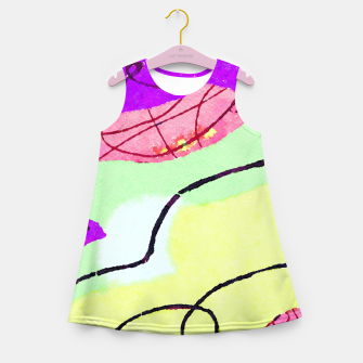 Miniatur Natural Thinker Girl's summer dress, Live Heroes