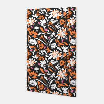 Thumbnail image of Dark garden abstract Canvas, Live Heroes