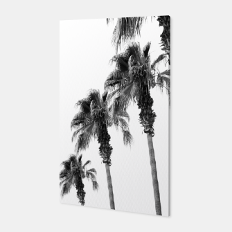 Thumbnail image of Bohemian Black & White Palms #1 #minimal #tropical #decor #art  Canvas, Live Heroes