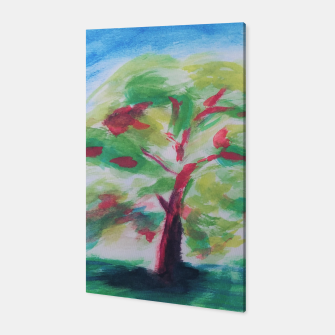Thumbnail image of watercolour tree Canvas, Live Heroes
