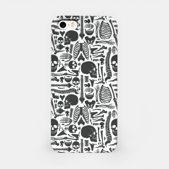 Thumbnail image of Human Skeleton Goth Pattern iPhone Case, Live Heroes