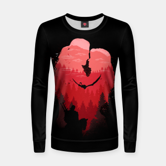 Thumbnail image of Wild Lovers - Witcher Women sweater, Live Heroes