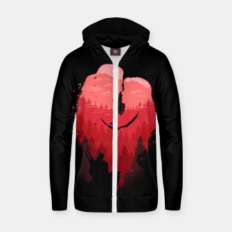 Thumbnail image of Wild Lovers - Witcher Zip up hoodie, Live Heroes