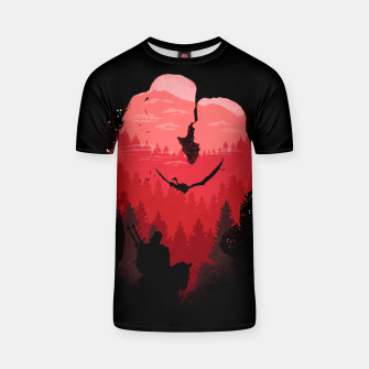 Thumbnail image of Wild Lovers - Witcher T-shirt, Live Heroes