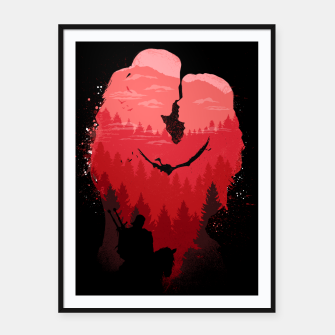 Thumbnail image of Wild Lovers - Witcher Framed poster, Live Heroes