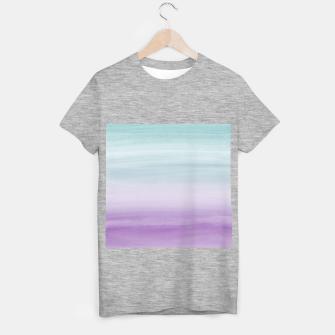 Thumbnail image of Touching Mermaid Girls Watercolor Abstract #1 #painting #decor #art T-Shirt regulär, Live Heroes