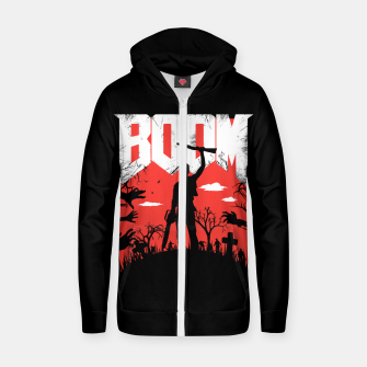 Miniatur This is my boomstick - evil dead - horror Zip up hoodie, Live Heroes