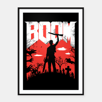 Miniatur This is my boomstick - evil dead - horror Framed poster, Live Heroes