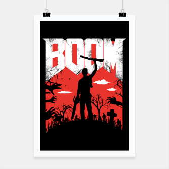 Miniatur This is my boomstick - evil dead - horror Poster, Live Heroes