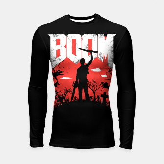 Miniatur This is my boomstick - evil dead - horror Longsleeve rashguard , Live Heroes