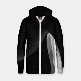 Black is the new gold  Zip up hoodie thumbnail image