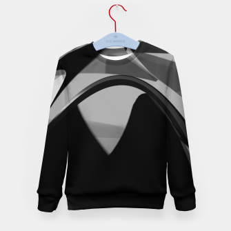 Black is the new gold  Kid's sweater thumbnail image