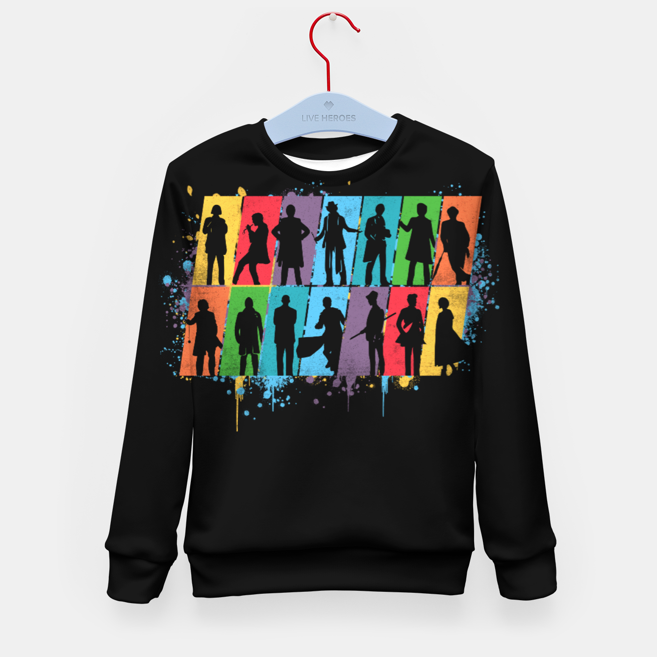 Image of Timelord - Doctor Who Kid's sweater - Live Heroes