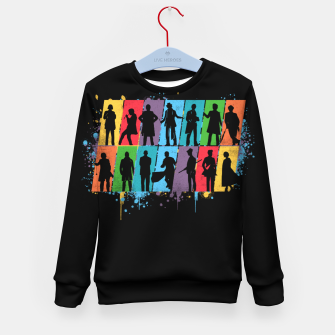 Thumbnail image of Timelord - Doctor Who Kid's sweater, Live Heroes