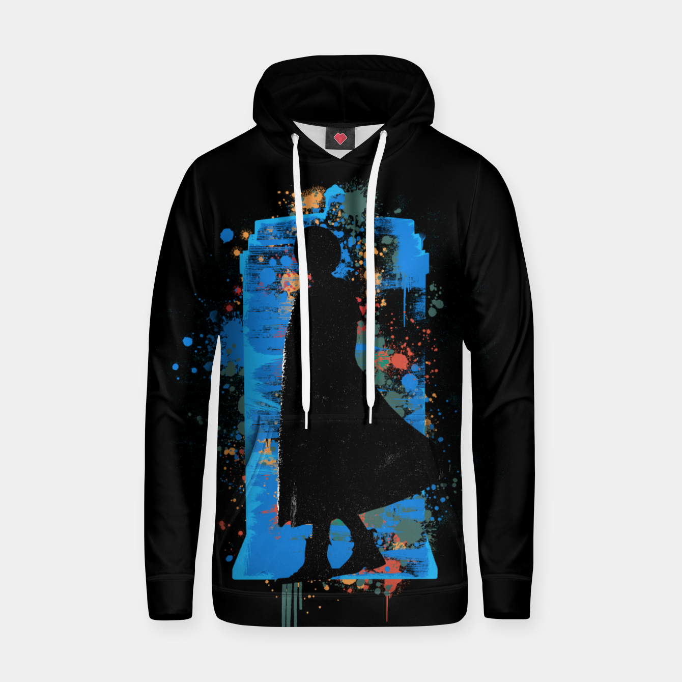 Foto The Lord Of Time - Doctor Who Hoodie - Live Heroes