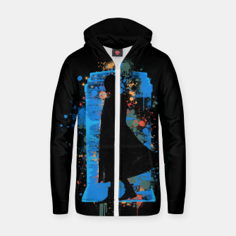Thumbnail image of The Lord Of Time - Doctor Who Zip up hoodie, Live Heroes