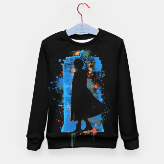 Miniatur The Lord Of Time - Doctor Who Kid's sweater, Live Heroes