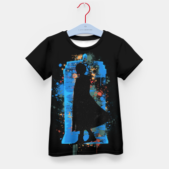 Miniaturka The Lord Of Time - Doctor Who Kid's t-shirt, Live Heroes