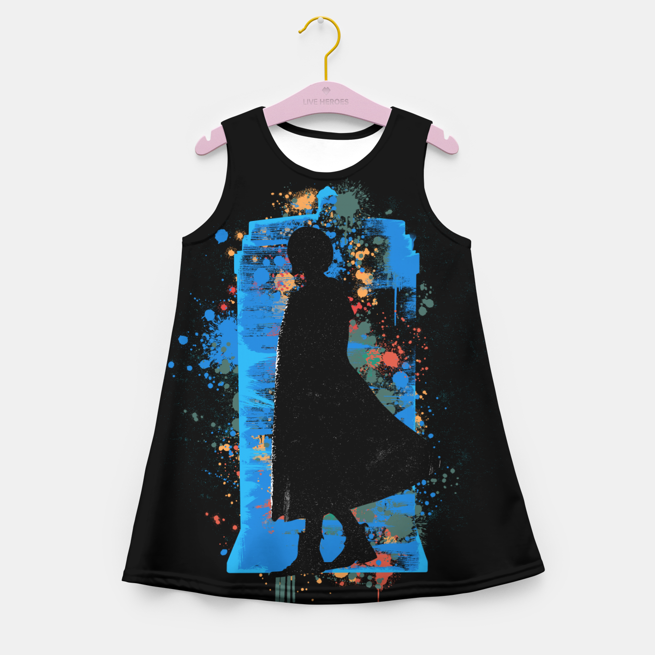 Image of The Lord Of Time - Doctor Who Girl's summer dress - Live Heroes
