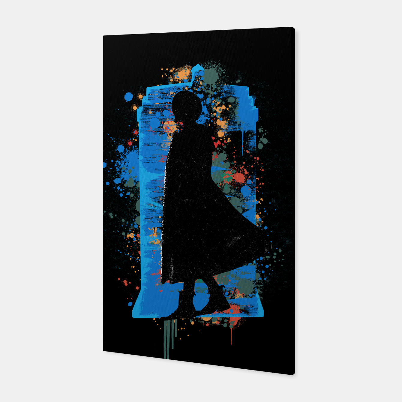 Image of The Lord Of Time - Doctor Who Canvas - Live Heroes