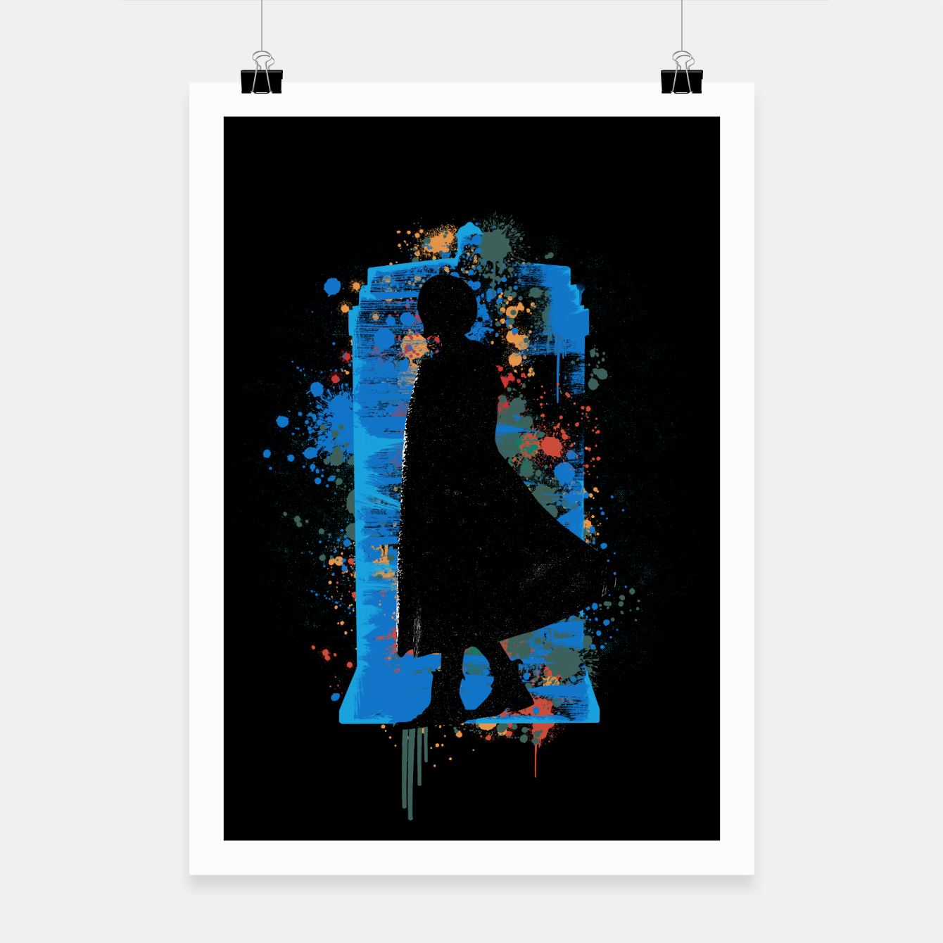 Image of The Lord Of Time - Doctor Who Poster - Live Heroes
