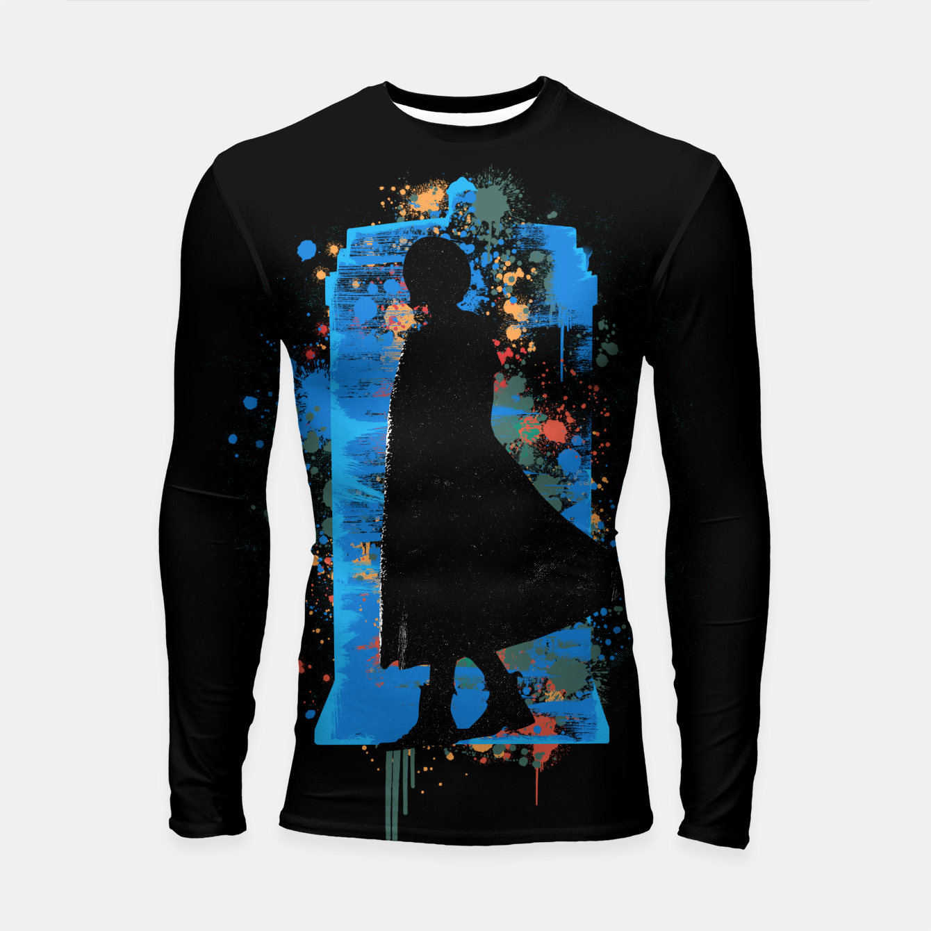 Image of The Lord Of Time - Doctor Who Longsleeve rashguard  - Live Heroes